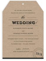 Farm to Table Wedding Invitations