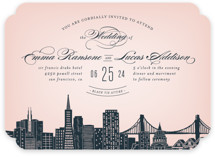 Big City- San Francisco Wedding Invitations