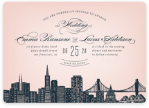 Big City- San Francisco Wedding Invitations