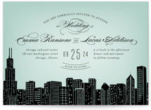 Big City - Chicago Wedding Invitations