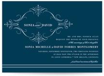 French Vintage Wedding Invitations