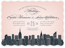 Big City- New York City Wedding Invitations