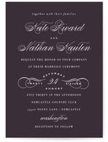 Promise Wedding Invitations