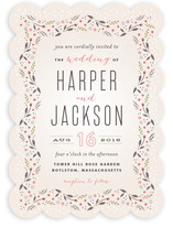Classic Garden Wedding Invitations