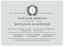 Endure Wedding Invitations