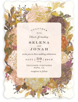 Floral Feast Wedding Invitations