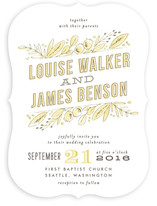 Floral Stack Wedding Invitations