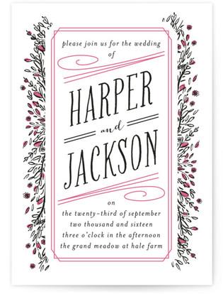 Grand Meadow Wedding Invitations