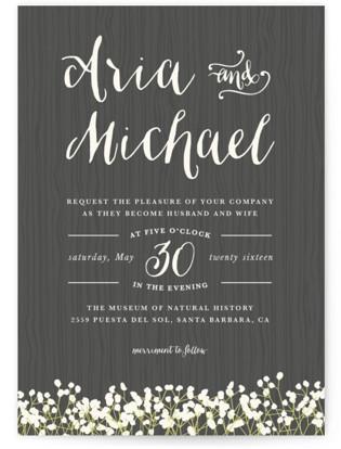 In Nature Wedding Invitations