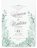 Jardin Wedding Invitations
