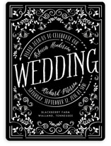 Let's Get Married Wedding Invitations