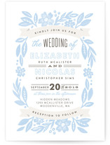 Painted Meadow Wedding Invitations