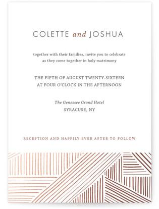 Rhythm + Hues Wedding Invitations