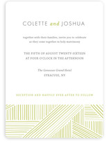 Rhythm + Hues Wedding Invitations