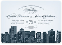 Big City- Boston Wedding Invitations