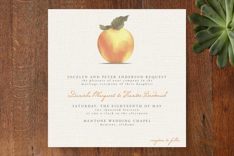 Apple Harvest Wedding Invitations