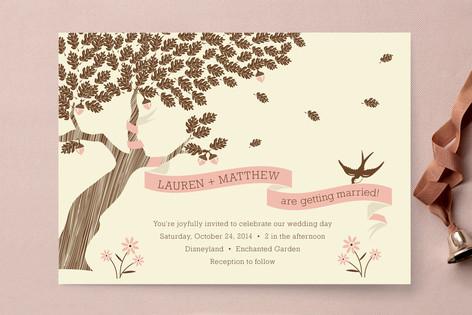 Under the Tree Wedding Invitations