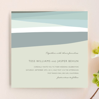 Sea Scape Wedding Invitations