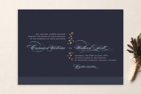 Ce Soir Wedding Invitations