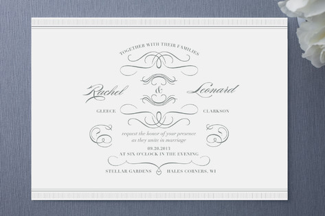 Sophisticate Wedding Invitations