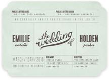 Mr. Laurence Wedding Invitations