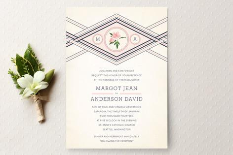 Elegance Entwined Wedding Invitations
