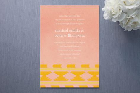 Suzani Wedding Invitations