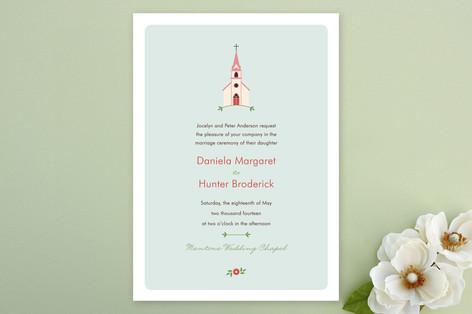 Sweet Chapel Wedding Invitations