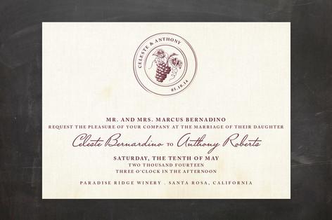 Tuscany Wedding Invitations