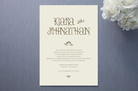 Book of Love Wedding Invitations