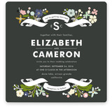 Banner and Branches Wedding Invitations