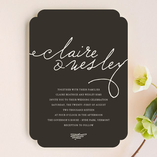 Love Letter Wedding Invitations