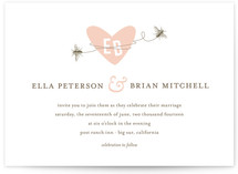 Sweet Bees Wedding Invitations