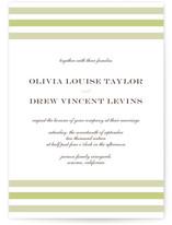 Float + Sweetie Stripe Wedding Invitations