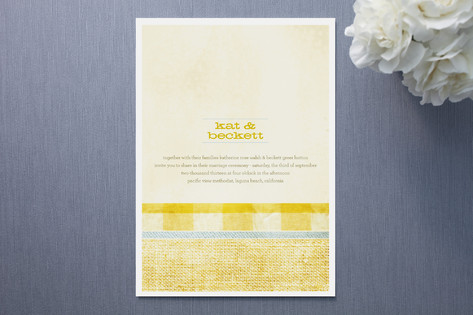 Layers Wedding Invitations