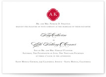 Sloane Wedding Invitations