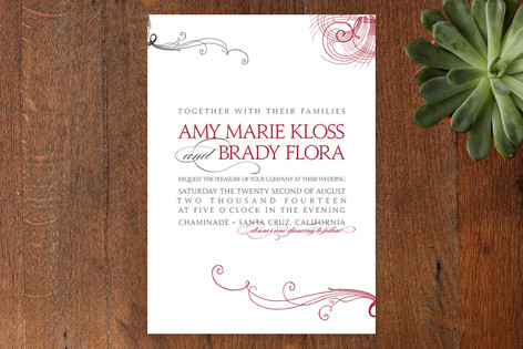 Amy Wedding Invitations
