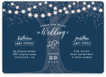Garden Lights Wedding Invitations