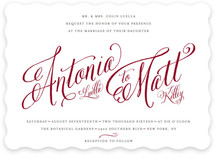 Traditional Royalty Wedding Invitations