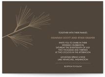 Pine Branch Wedding Invitations
