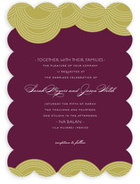 Pearls on a String Wedding Invitations