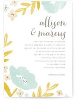 Fresh Cut Wedding Invitations