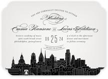 Big City - Philadelphia Wedding Invitations