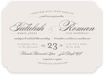 Love Language Wedding Invitations