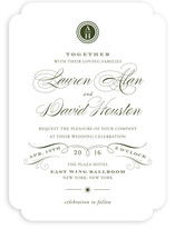 Regal Wedding Invitations