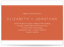 Runway Wedding Invitations