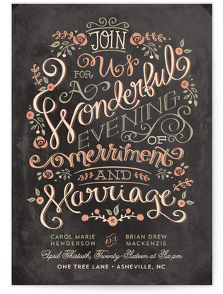 Merriment Wedding Invitations