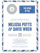 Come Away With Me Wedding Invitations