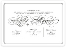 Edison Wedding Invitations