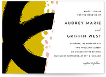 the modernists Wedding Invitations